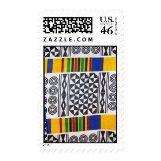 Circles kente stamp