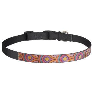 Circles Lg Dog Collar