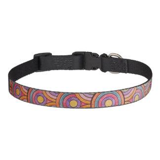 Circles Med Dog Collar