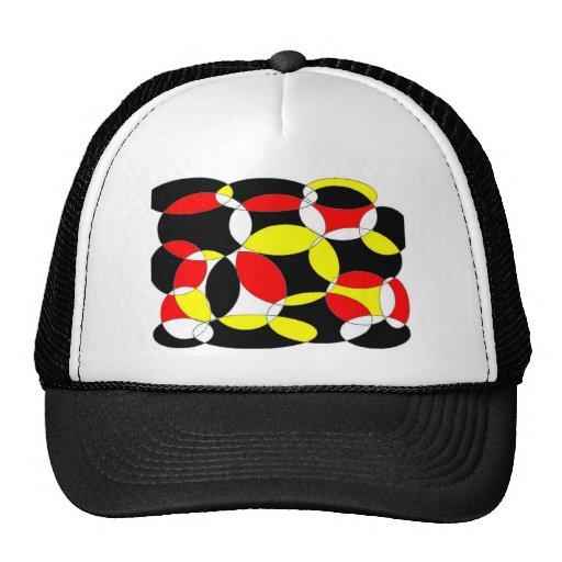 circles mesh hats