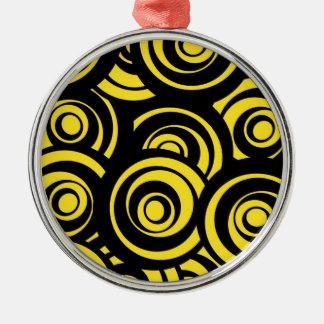 Circles Metal Ornament