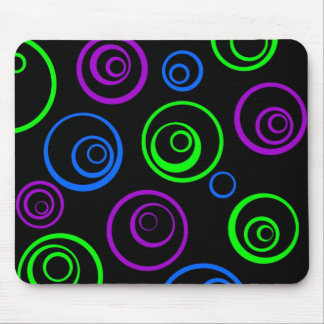 circles mouse pad