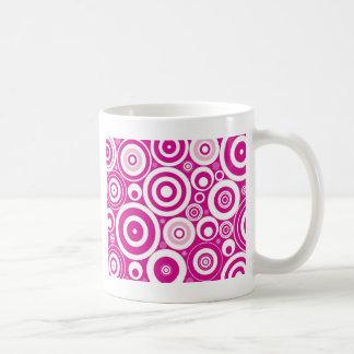 Circles Classic White Coffee Mug