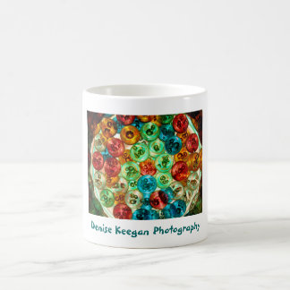 Circles of Color - Denise Keegan Photography Coffee Mug