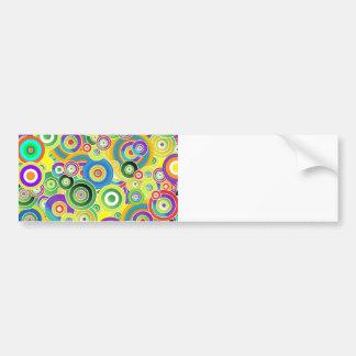 Circles of Colors Bumper Sticker