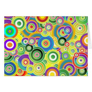 Circles of Colors Card