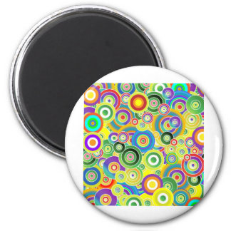 Circles of Colors Magnet