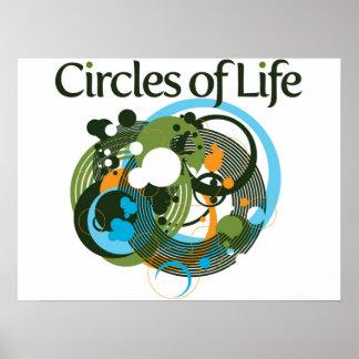 Circles of Life Print