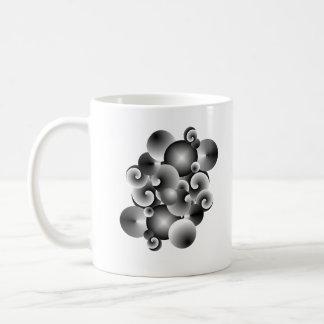 circles of metal mug