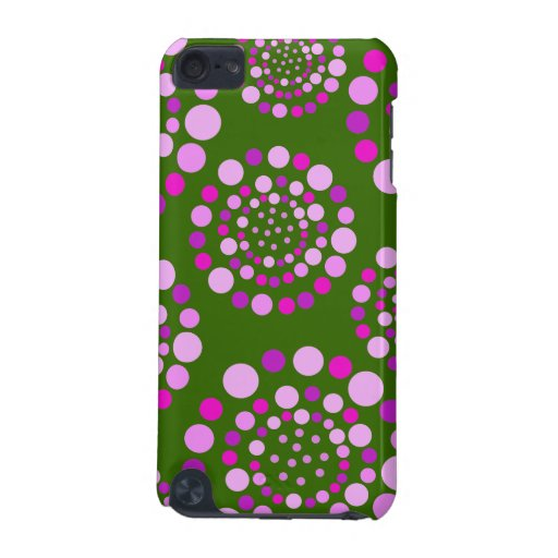 Circles of Pink Circles iPod Touch (5th Generation) Cases