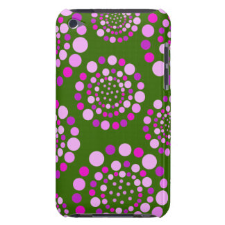 Circles of Pink Circles iPod Touch Covers