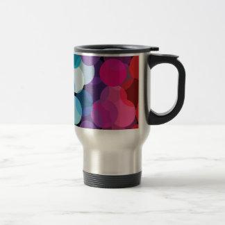 Circles of Rainbows Travel Mug
