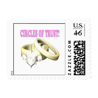 Circles Of Trust Postage Stamps