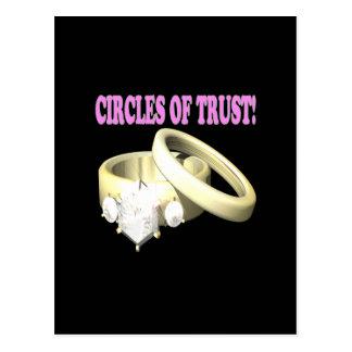 Circles Of Trust Postcard