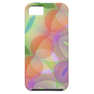 Circles Ovals Multicolored Fractal iPhone SE/5/5s Case