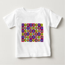 circles pattern baby T-Shirt