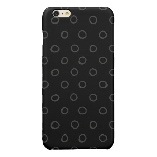 circles pattern glossy iPhone 6 plus case