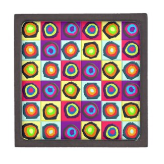 circles pattern premium jewelry boxes