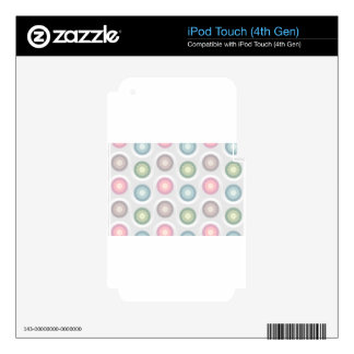 circles pattern skins for iPod touch 4G