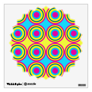 Circles pattern wall skin