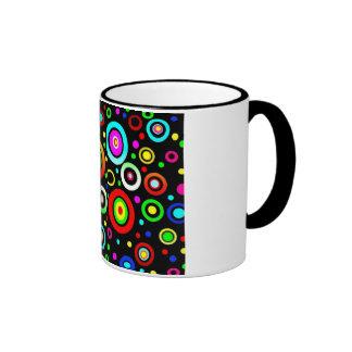 Circles Ringer Coffee Mug