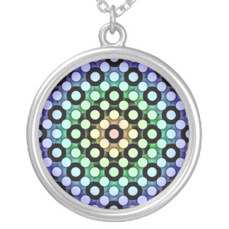 Circles Round Pendant Necklace