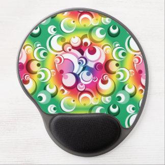 Circles & Spheres Rainbow Circle Gel Mousepad