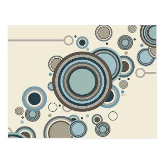Circles Streaming Postcard