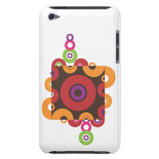Circles & Swirls Barely There iPod Case