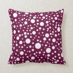 Circles Throw Pillows