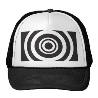 circles trucker hat