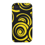 Circles Vibe iPhone 4 Cover