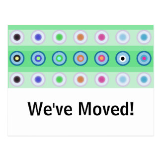 Circles - We've Moved! Post Card