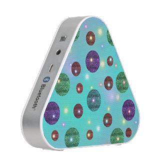 Circles with brightness bluetooth speaker