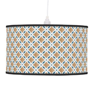 Circles with lens pattern and Diamond Ceiling Lamp