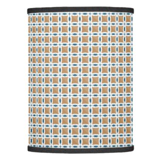 Circles with lens pattern and Diamond Lamp Shade