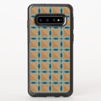 Circles with lens pattern and Diamond OtterBox Symmetry Samsung Galaxy S10 Case