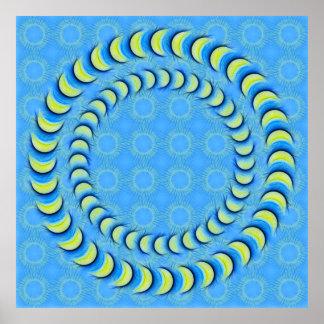 CircleSaw Canvas Poster