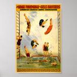 Circo 1898 del vintage de Adán Forepaugh Posters