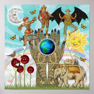 Circo cósmico poster