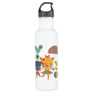 Circo Cuties Botella De Agua De Acero Inoxidable