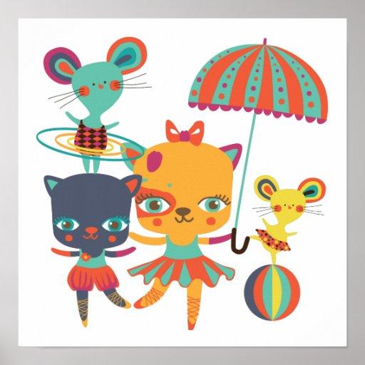 Circo Cuties Posters