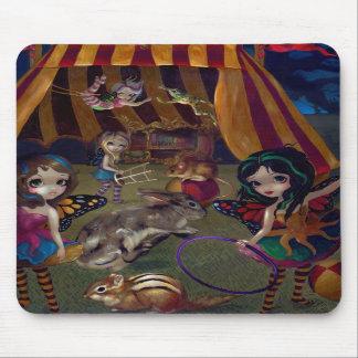 """""""Circo de hadas"""" Mousepad Alfombrilla De Ratón"""