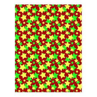 ¡CIRCO DE LA ESTRELLA! (verde y amarillo rojos) ~ Postal