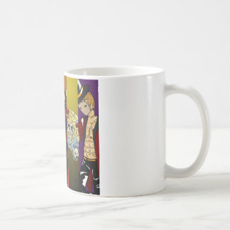Circo de la pesadilla taza de café