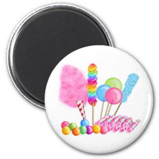 Circo del caramelo imanes de nevera
