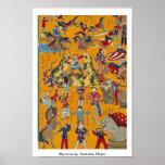 Circo grande por   Sankindo, Ukiyoe Posters