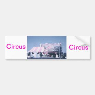 Circo Las Vegas del circo Pegatina Para Auto