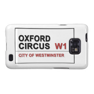 Circo Lodon Inglaterra de Oxford Galaxy SII Funda