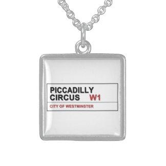 Circo Londres de Piccadilly Colgante Cuadrado